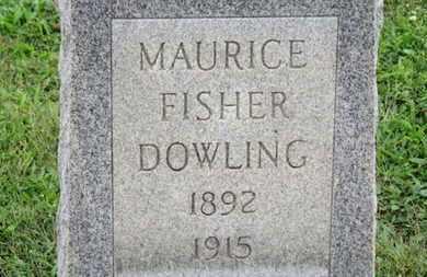 DOWLING, MAURICE FISHER - Ashland County, Ohio | MAURICE FISHER DOWLING - Ohio Gravestone Photos