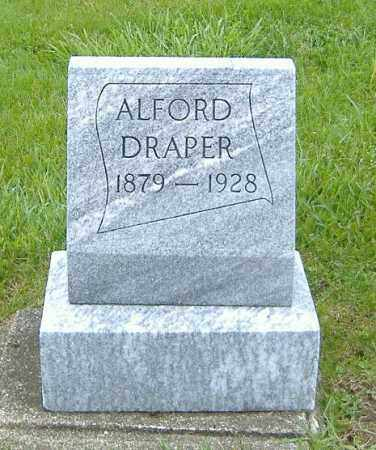 DRAPER, ALFORD - Ashland County, Ohio | ALFORD DRAPER - Ohio Gravestone Photos