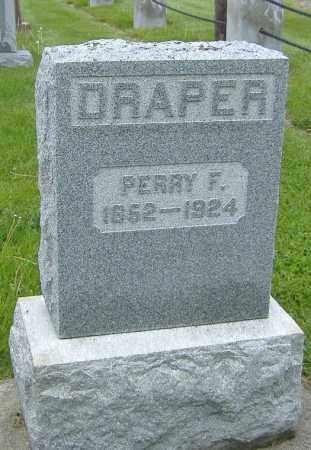 DRAPER, PERRY F. - Ashland County, Ohio | PERRY F. DRAPER - Ohio Gravestone Photos