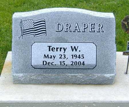DRAPER, TERRY WALTON - Ashland County, Ohio   TERRY WALTON DRAPER - Ohio Gravestone Photos