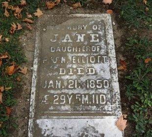 ELLIOT, P. - Ashland County, Ohio   P. ELLIOT - Ohio Gravestone Photos