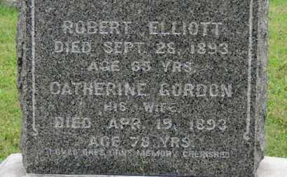 GORDON ELLIOT, CATHERINE - Ashland County, Ohio | CATHERINE GORDON ELLIOT - Ohio Gravestone Photos