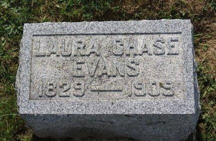CHASE EVANS, LAURA - Ashland County, Ohio   LAURA CHASE EVANS - Ohio Gravestone Photos