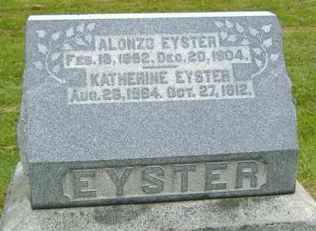 EYSTER, KATHERINE - Ashland County, Ohio | KATHERINE EYSTER - Ohio Gravestone Photos