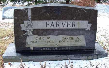 FARVER, JOHN WILBERT - Ashland County, Ohio | JOHN WILBERT FARVER - Ohio Gravestone Photos