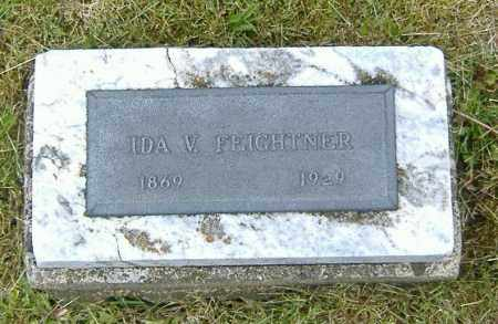 FEIGHTNER, IDA V. - Ashland County, Ohio | IDA V. FEIGHTNER - Ohio Gravestone Photos