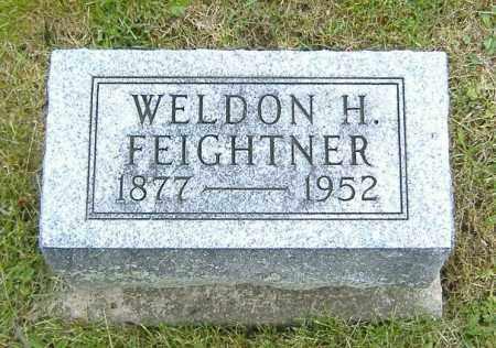 FEIGHTNER, WELDON HENRY - Ashland County, Ohio   WELDON HENRY FEIGHTNER - Ohio Gravestone Photos
