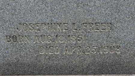 FREER, JOSEPHINE L. - Ashland County, Ohio   JOSEPHINE L. FREER - Ohio Gravestone Photos