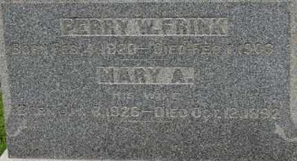 FINK, MARY A. - Ashland County, Ohio | MARY A. FINK - Ohio Gravestone Photos