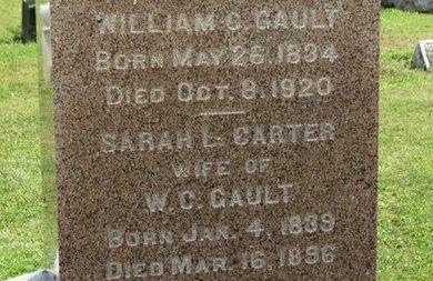 CARTER GAULT, SARAH L. - Ashland County, Ohio | SARAH L. CARTER GAULT - Ohio Gravestone Photos