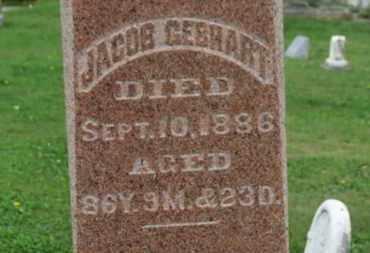 GEBHART, JACOB - Ashland County, Ohio | JACOB GEBHART - Ohio Gravestone Photos
