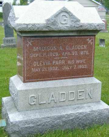 PARR GLADDEN, OLEVIA - Ashland County, Ohio | OLEVIA PARR GLADDEN - Ohio Gravestone Photos