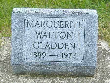 WALTON GLADDEN, OLGA MARGUERITE - Ashland County, Ohio | OLGA MARGUERITE WALTON GLADDEN - Ohio Gravestone Photos