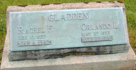 GLADDEN, RACHEL F. - Ashland County, Ohio   RACHEL F. GLADDEN - Ohio Gravestone Photos