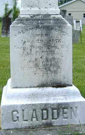 YOUNG GLADDEN, RACHEL - Ashland County, Ohio | RACHEL YOUNG GLADDEN - Ohio Gravestone Photos