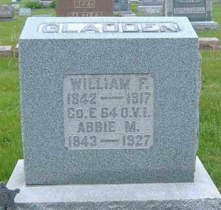 GLADDEN, ABIGAIL - Ashland County, Ohio | ABIGAIL GLADDEN - Ohio Gravestone Photos