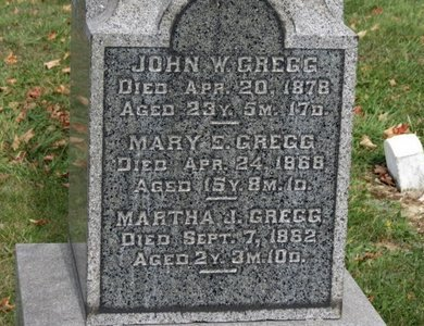GREGG, MARY E. - Ashland County, Ohio | MARY E. GREGG - Ohio Gravestone Photos