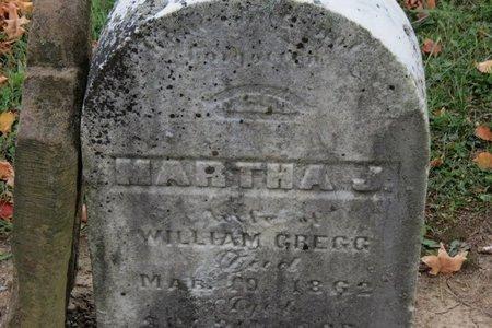 GREGG, MARTHA J. - Ashland County, Ohio   MARTHA J. GREGG - Ohio Gravestone Photos