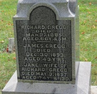 GREGG, JAMES - Ashland County, Ohio   JAMES GREGG - Ohio Gravestone Photos