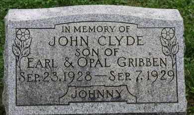 GRIBBEN, OPAL - Ashland County, Ohio | OPAL GRIBBEN - Ohio Gravestone Photos
