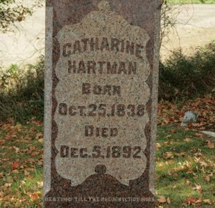HARTMAN, CATHARINE - Ashland County, Ohio   CATHARINE HARTMAN - Ohio Gravestone Photos