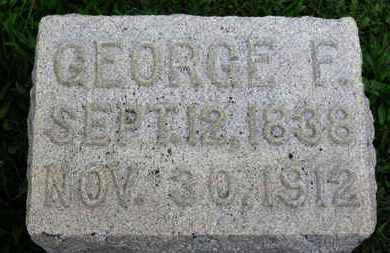 HIPP, GEORGE F. - Ashland County, Ohio   GEORGE F. HIPP - Ohio Gravestone Photos