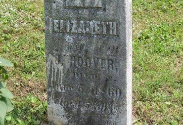 HOOVER, J. - Ashland County, Ohio   J. HOOVER - Ohio Gravestone Photos