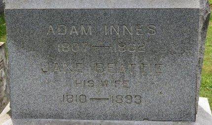 BEATTIE INNES, JANE - Ashland County, Ohio   JANE BEATTIE INNES - Ohio Gravestone Photos