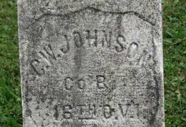JOHNSON, C.W. - Ashland County, Ohio | C.W. JOHNSON - Ohio Gravestone Photos