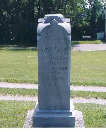 KNAPP, EDWARD G. - Ashland County, Ohio | EDWARD G. KNAPP - Ohio Gravestone Photos