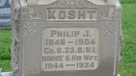 KOSHT, MINNIE E. - Ashland County, Ohio | MINNIE E. KOSHT - Ohio Gravestone Photos