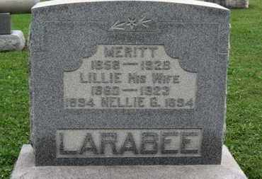 LARABEE, MERITT - Ashland County, Ohio | MERITT LARABEE - Ohio Gravestone Photos