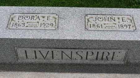 LIVENSPIRE, DORA E. - Ashland County, Ohio | DORA E. LIVENSPIRE - Ohio Gravestone Photos