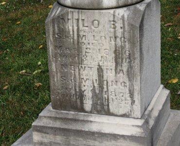 LONG, NEWTON A. - Ashland County, Ohio | NEWTON A. LONG - Ohio Gravestone Photos