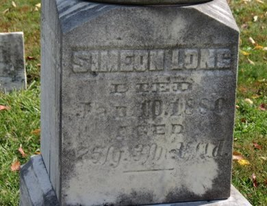 LONG, SIMEON - Ashland County, Ohio | SIMEON LONG - Ohio Gravestone Photos