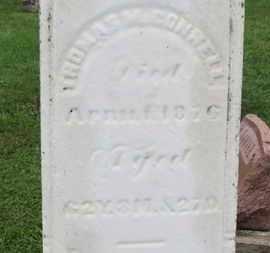 MCCONNELL, THOMAS - Ashland County, Ohio   THOMAS MCCONNELL - Ohio Gravestone Photos