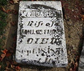 MCFADDEN, MARGARET - Ashland County, Ohio   MARGARET MCFADDEN - Ohio Gravestone Photos