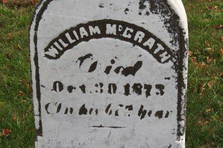 MCGRATH, WILLIAM - Ashland County, Ohio | WILLIAM MCGRATH - Ohio Gravestone Photos