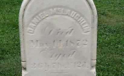 MCLAUGHLIN, DANIEL - Ashland County, Ohio   DANIEL MCLAUGHLIN - Ohio Gravestone Photos