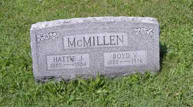MCMILLAN, BOYD V. - Ashland County, Ohio | BOYD V. MCMILLAN - Ohio Gravestone Photos