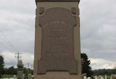 MOORE, BENJAMIN - Ashland County, Ohio | BENJAMIN MOORE - Ohio Gravestone Photos