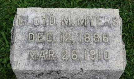 MYERS, CLOYD M. - Ashland County, Ohio | CLOYD M. MYERS - Ohio Gravestone Photos