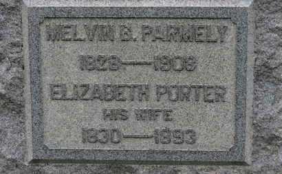 PORTER PARMELY, ELIZABETH - Ashland County, Ohio | ELIZABETH PORTER PARMELY - Ohio Gravestone Photos