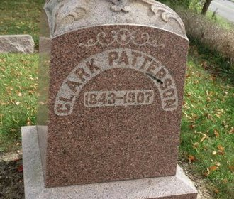 PATTERSON, CLARK - Ashland County, Ohio | CLARK PATTERSON - Ohio Gravestone Photos