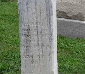 PETERS, ROSELLA - Ashland County, Ohio | ROSELLA PETERS - Ohio Gravestone Photos