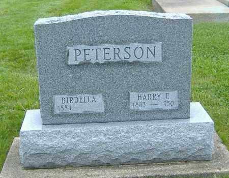 PETERSON, BIRDELLA - Ashland County, Ohio | BIRDELLA PETERSON - Ohio Gravestone Photos