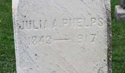 PHELPS, JULIA A. - Ashland County, Ohio | JULIA A. PHELPS - Ohio Gravestone Photos