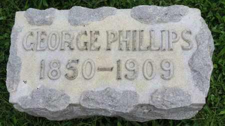 PHILLIPS, GEORGE - Ashland County, Ohio   GEORGE PHILLIPS - Ohio Gravestone Photos