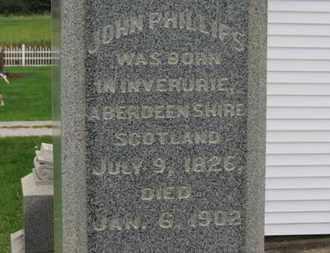 PHILLIPS, JOHN - Ashland County, Ohio   JOHN PHILLIPS - Ohio Gravestone Photos