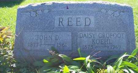 REED, JOHN D - Ashland County, Ohio | JOHN D REED - Ohio Gravestone Photos